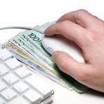pinigai internete